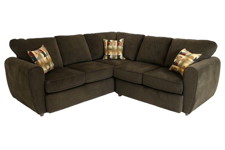 Top Hat Chocolate Right Facing Sectional Sectionals Living Room Mor Furniture For Less