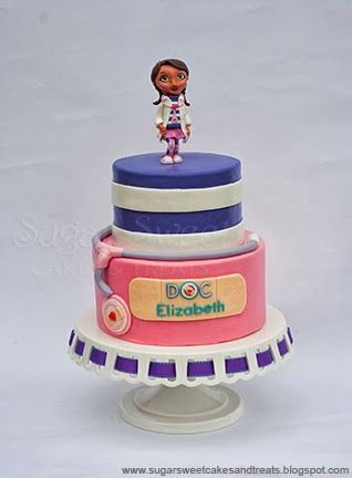 Sugar Sweet Cakes and Treats: Doc McStuffins Cake