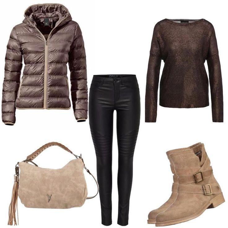 Daunenjacke Only Outfit Outfit für Damen zum Nachshoppen auf Stylaholic