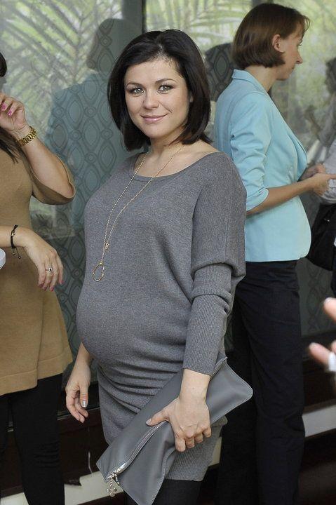 Kasia Cichopek w 8 miesiącu ciąży