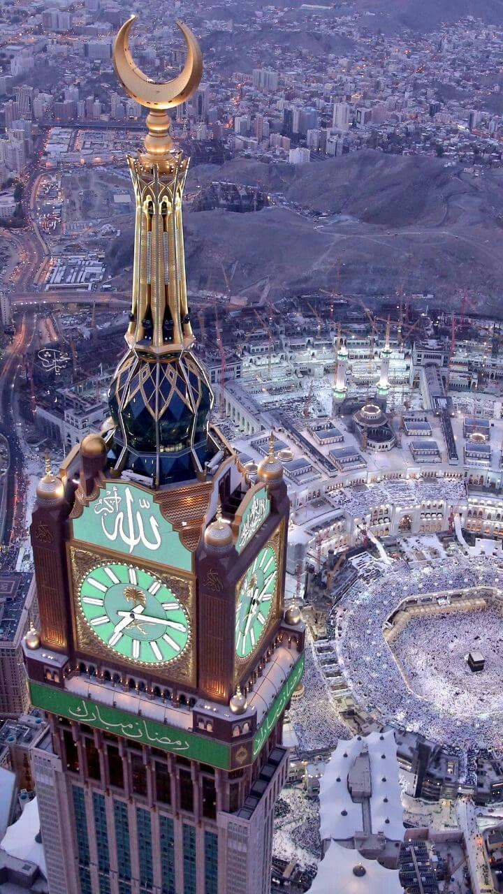 Makah, October or November with... İncha ALLAH