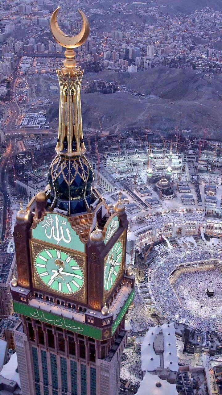 Beautiful photo from Makah, KSA