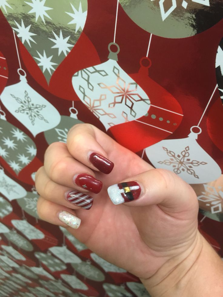 Christmas Red with Santa suit 2015