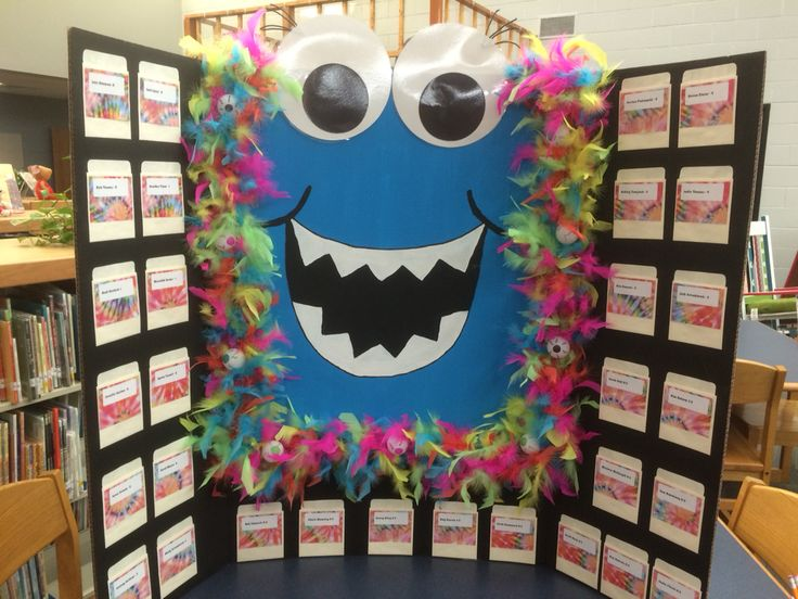 Teacher Wish List - Scholastic Monster Theme
