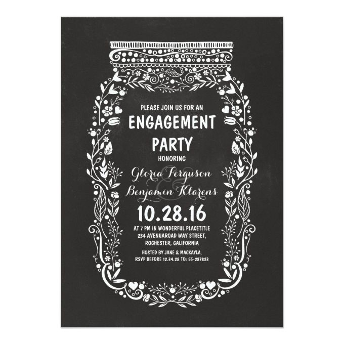 Best 25 Engagement party invitations ideas – Creative Engagement Party Invitations