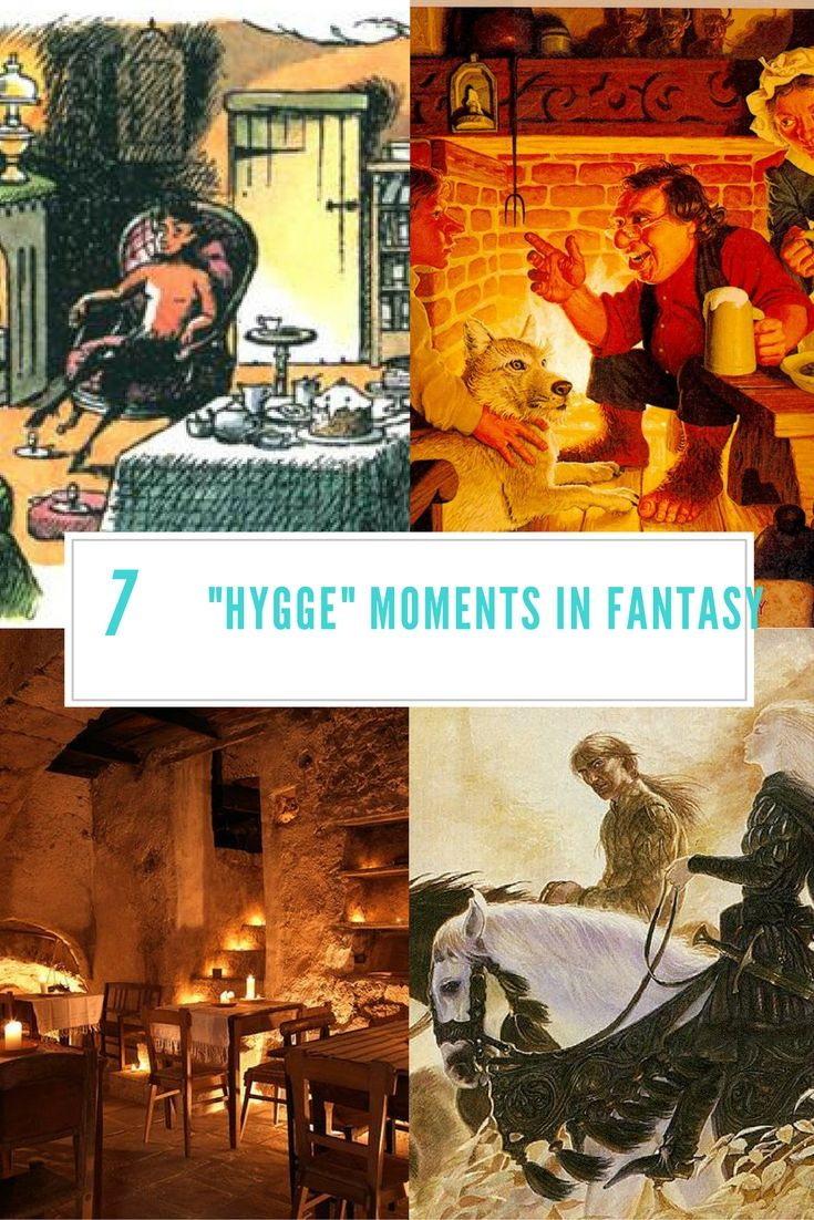"""7 amazing """"hygge"""" moments in fantasy novels"""