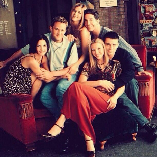 Ross Rachel Monica Chandler Joey And Phoebe Friends