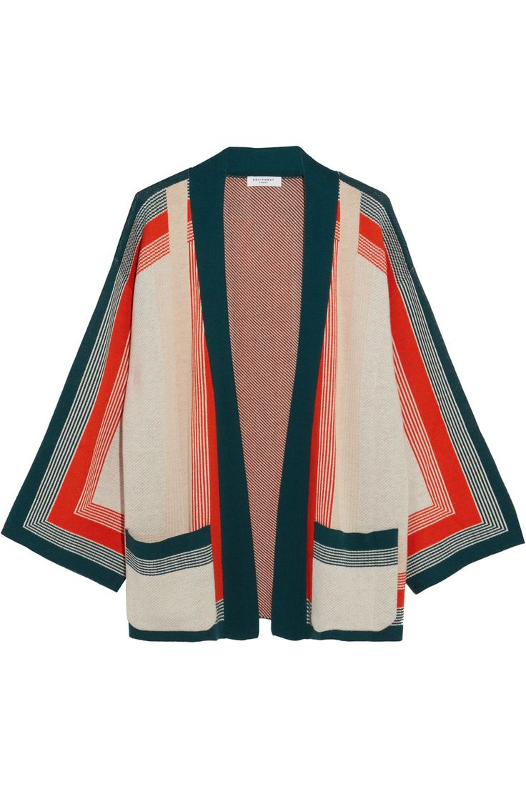 Equipment | Anders striped knitted cardigan | NET-A-PORTER.COM