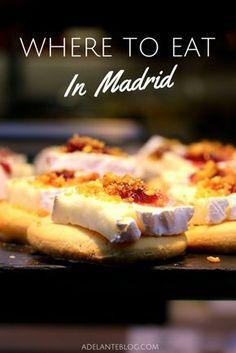 ¿Escapada en Madrid? No te preocupes, estos son los mejores restaurantes y bares que tienes que ir.