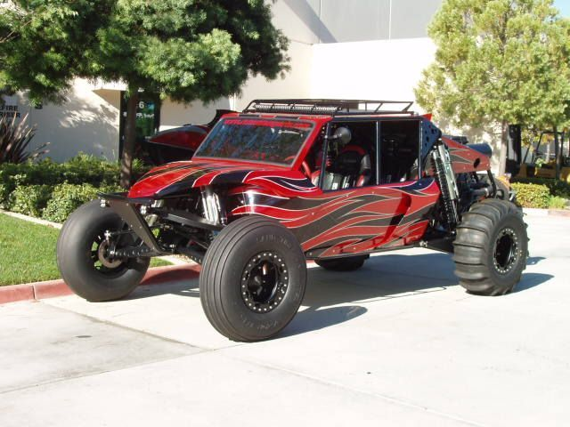2014 Raw Motorsports DD3 Sand Rail , red/black, 50 hours for sale in Temecula, CA