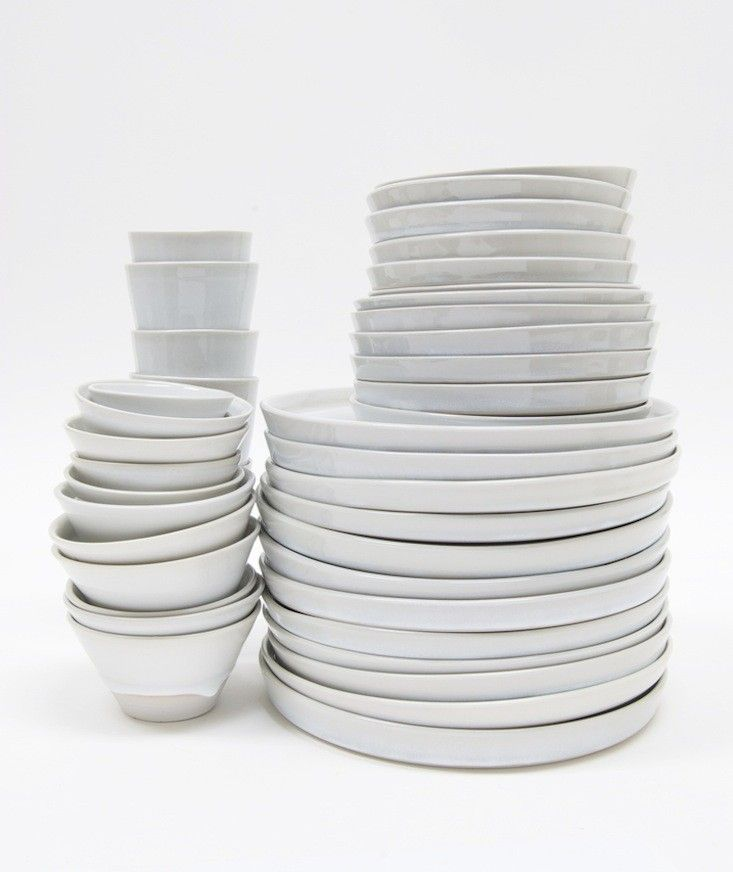 WRF Ceramics | Remodelista.  New York potter Paula Greif, who set a goal to make everything in her kitchen by hand. Clearly, she was ahead of the curve; handmade dinnerware is everywhere (see Currently Coveting: Japanese-Style Tableware Made in LA).