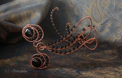 Ассиметричная диадема Хюррем - 3.  Ярмарка Мастеров - ручная работа. Купить в Мастерской Аниэльки. Handmade.