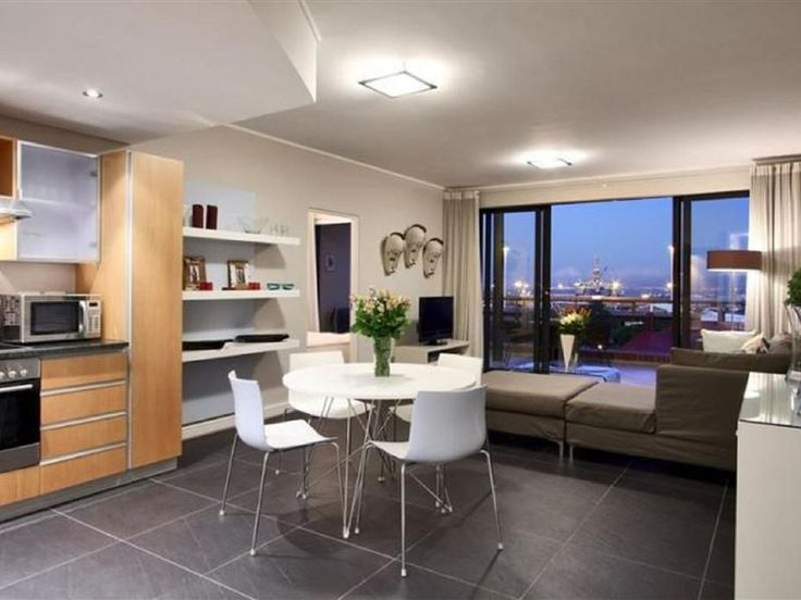 """319 The Rockwell Luxury Apartment - Situated on the third floor in the upmarket hotel and residence """"The Rockwell"""", this spectacular harbour facing two-bedroom apartment really is a cut above the rest. The apartment, protected from the ... #weekendgetaways #dewaterkant #capetowncentral #southafrica"""