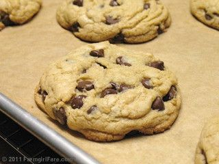 To Bake: Nigella Lawson chocolate-chip cookies.