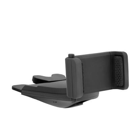 """Автомобильный держатель Crab CD  — 950 руб. —  Крепление смартфона в CD-слот (магнитолу) автомобиля   Технические характеристики   • Ширина держателя: от 58 до 88 мм   • Возможность поворота вашего устройства на 360º • Регулировка толщины крепления • Материал держателя: ABS пластик с """"soft touch"""" покрытием • Не мешает функциональности CD проигрывателя   Комплект   • Держатель • Крепление в CD-слот • Вкладки для регулировки толщины   Совместимость   • Apple iPhone 6/6 Plus, Apple iPhone…"""