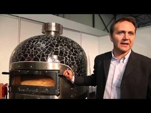 Pizza pec FG-i na plyn/drevo + vyhrievaná varná doska | alvex.sk