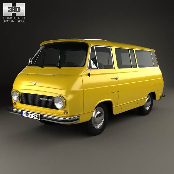 Skoda 1203 1968 3d model from humster3d.com. Price: $75