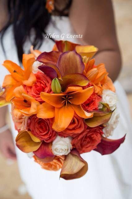 Bride bouquet from Helen G Events Jamaica #bride #bridesbouquet #bouquet #weddings #jamaica