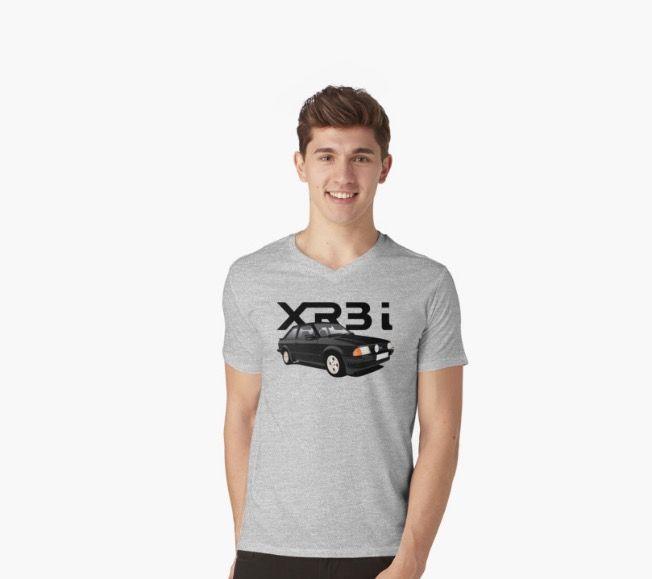 Ford Escort XR3i Mk3 from 80's.  http://shrsl.com/?~cjef  #ford #fordescort #escortxr3i #escortXxr3 #automobile #tshirts #british #classic #illustration #hothatch #redbubble