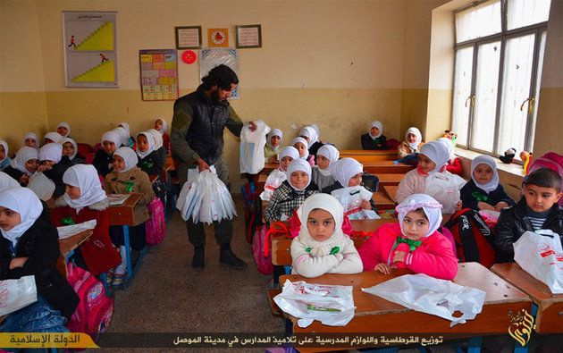 Under Islamic State, Children Trained To Behead At An Early Age