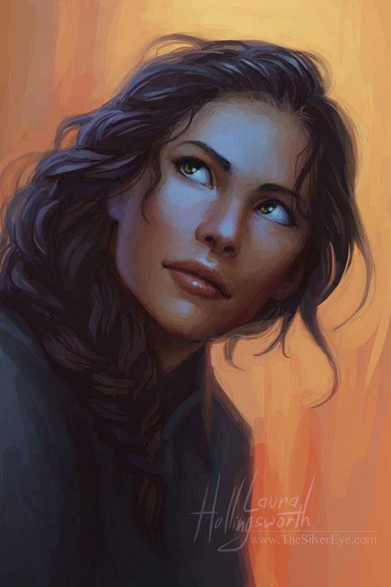 Fantasy Women Braided Hair