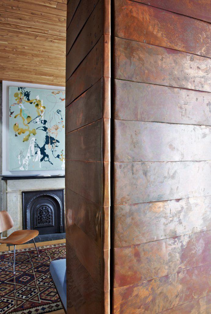 interior design | decoration | home decor | colors | copper clad walls