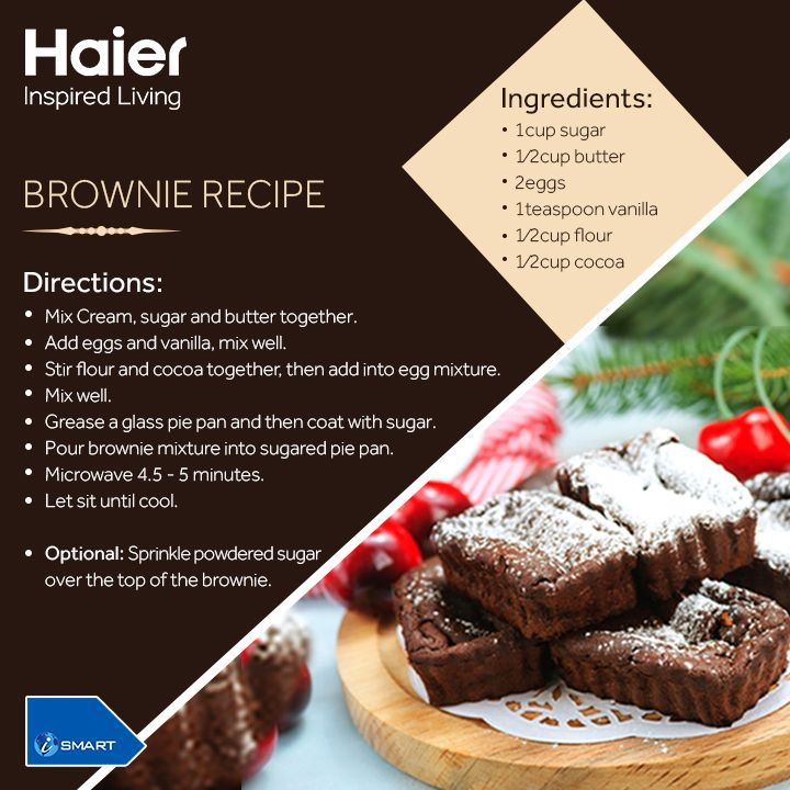 With lip smacking #Brownies, mark a memorable #BrownieDay. Celebrate #BrownieDay with your bestie! A perfect treat for the child in you! #Recipe #HaierRecipe #Brownie #Food #Cookinf