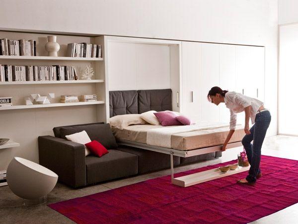 oltre 25 fantastiche idee su letto a scomparsa ikea su pinterest ... - Soggiorno Ikea 2015 2