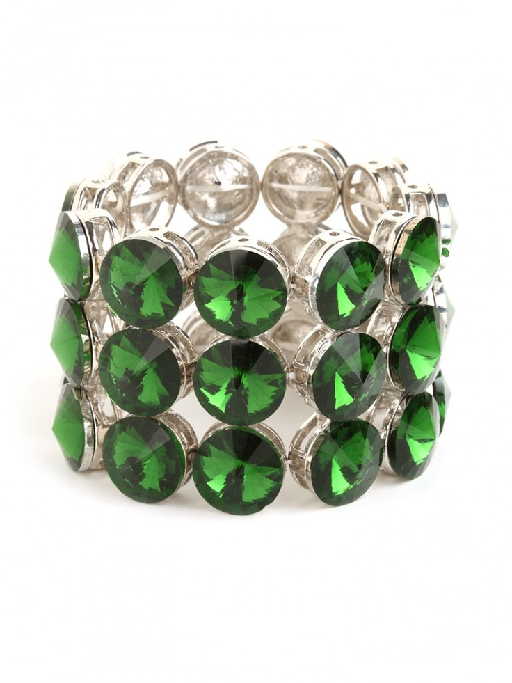 Emerald Gem Cuff :: Gorgeous #coloroftheyear