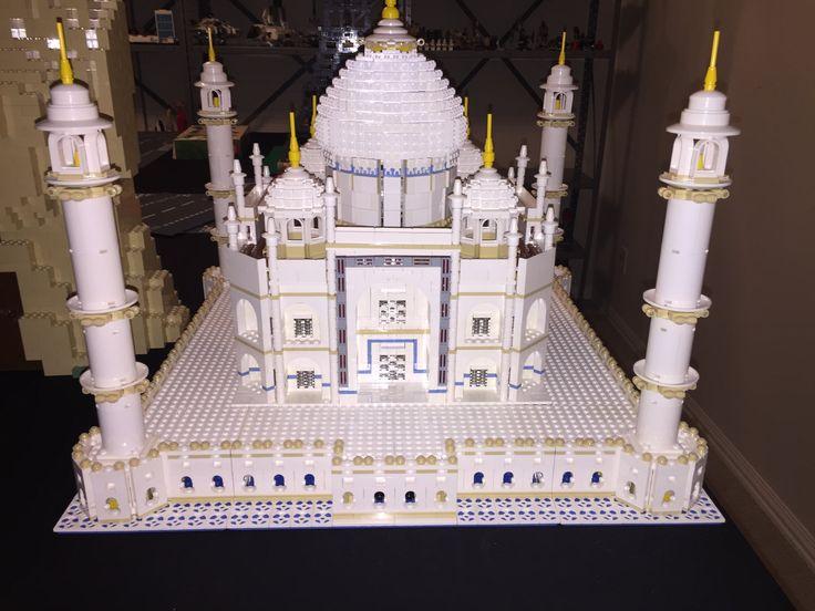 Taj Mahal Lego Set Speed Build