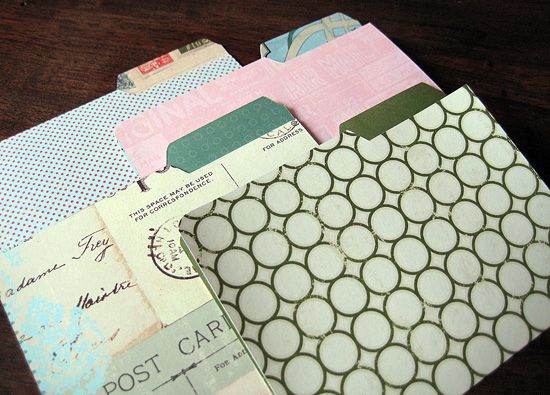 DIY: free printable Mini File Folder & Labels