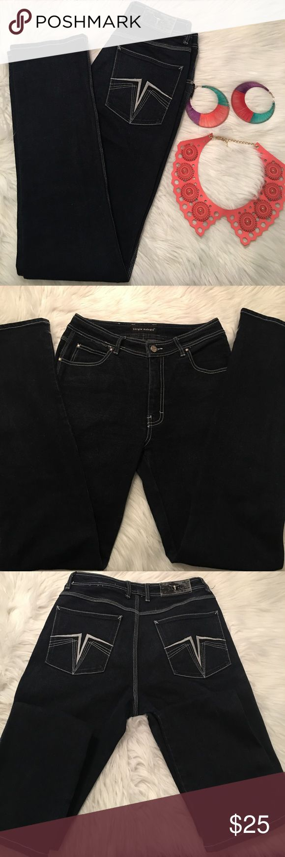 Vintage Sergio Valente Denim Jeans Vintage Sergio Valente Denim Jeans. Will fit all your curves. A perfect addition to your wardrobe. Sergio Valente Jeans Straight Leg