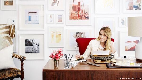 Lauren Conrad's New Paper Crown Offices {so gorgeous}