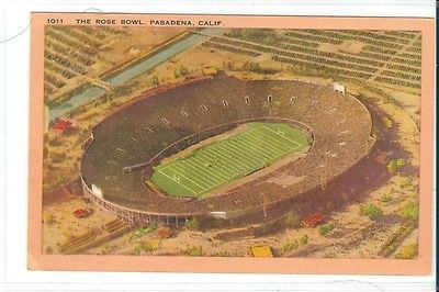 Rose bowl #pasadena #california usa american college #football aerial view 1930/4,  View more on the LINK: 	http://www.zeppy.io/product/gb/2/162273876662/