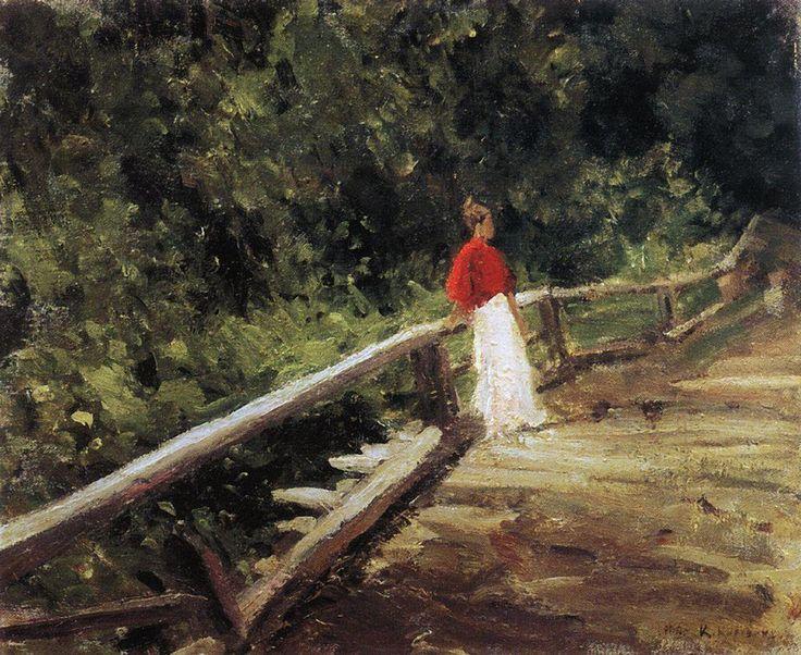 Мостик. Константин Коровин (1861-1939)