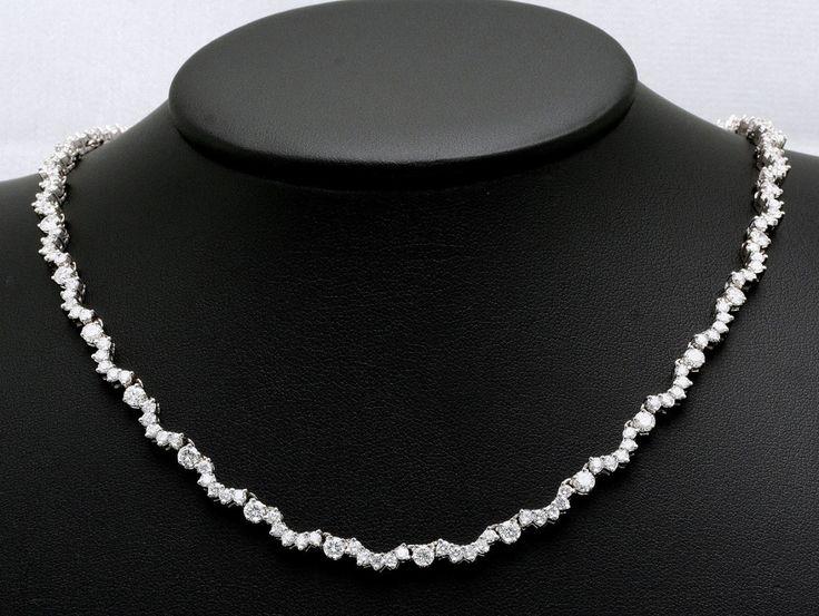 Chic Wedding Diamond Necklace