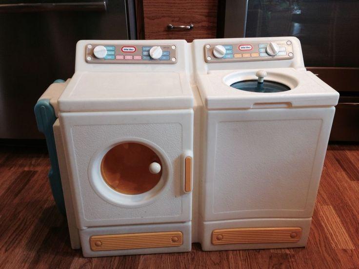 Details About Vintage Little Tikes Compact Laundry Center