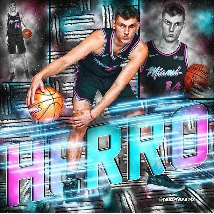 Tyler Herro Miami Heat Nba Wallpapers Nba Players Miami Heat