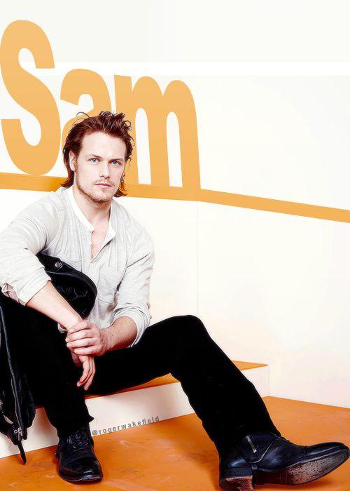 Sexier than Braveheart--Sam Heughan