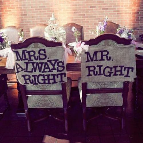 Chair swag and wedding chair decoration.