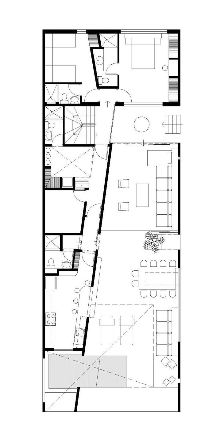 45 best ar 2d images on pinterest floor plans architecture and gallery of house in las arenas javier artadi 12 architecture planfloor