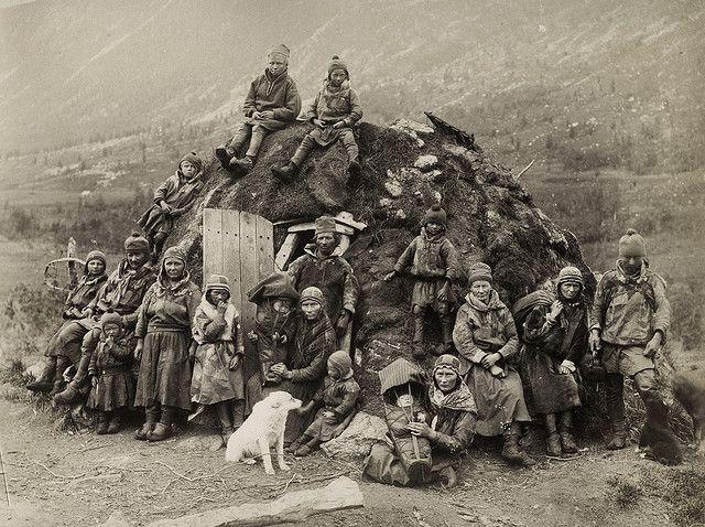 Sweden People | Northern Sweden Nomad Sami people about 1880 | Flickr - Photo Sharing!