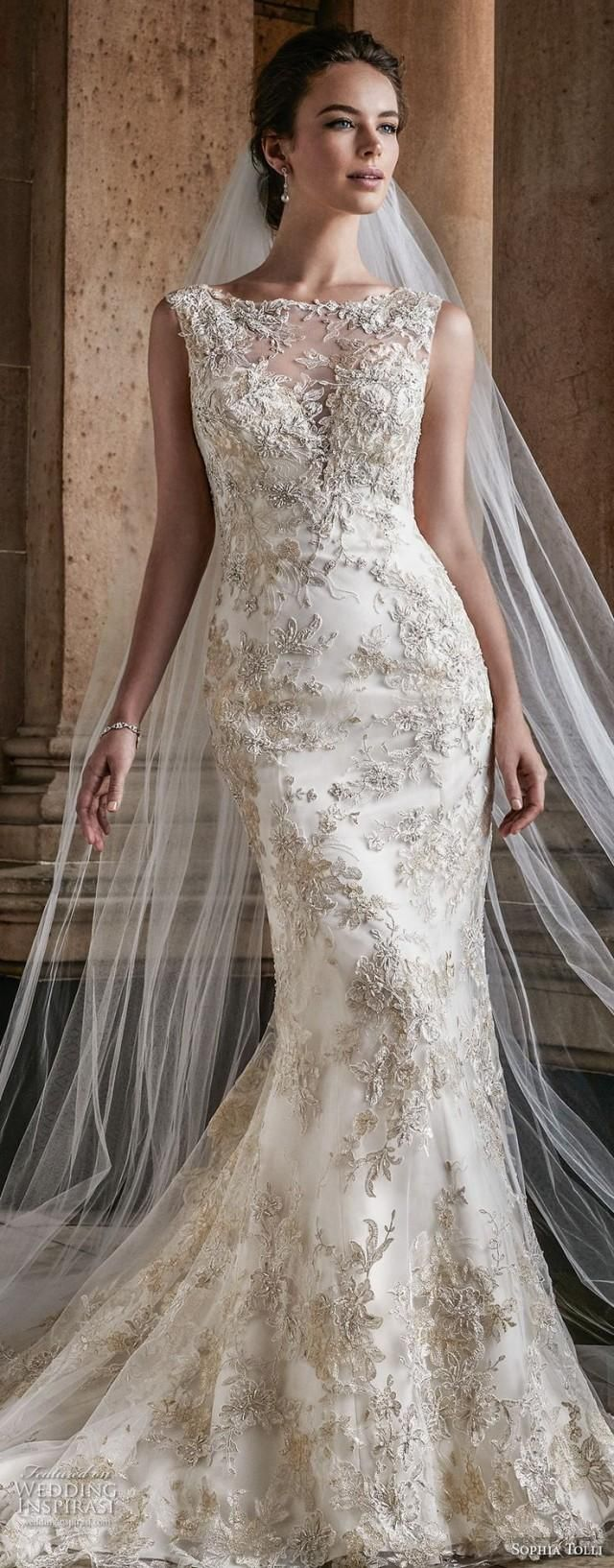 Sophia Tolli Wedding Dresses are known for their timeless designs and exquisite detailing, and the latest collection? A fabulous mix of romance and glam. Think