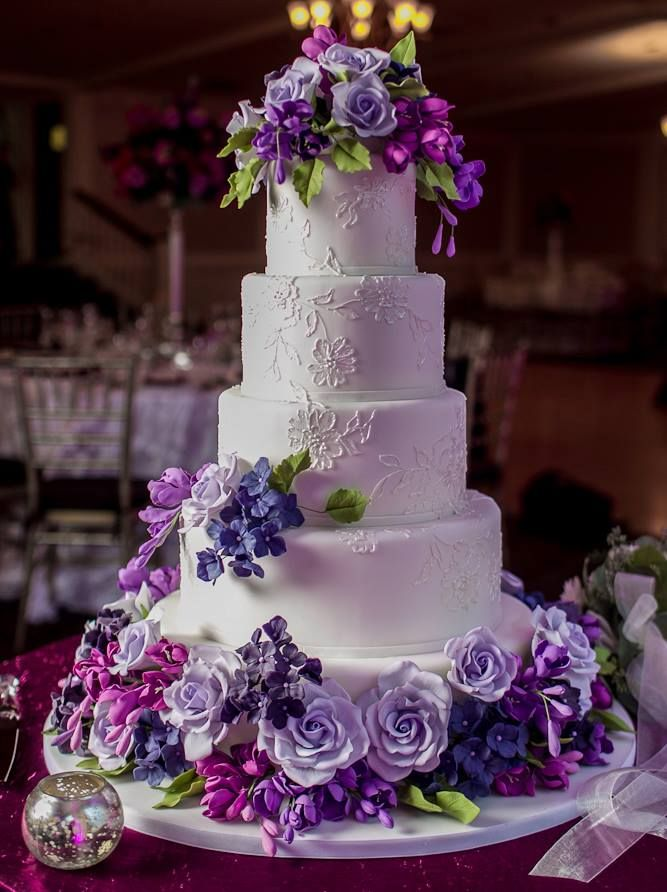 purple wedding cake decorations 25 best ideas about purple wedding cakes on 18912