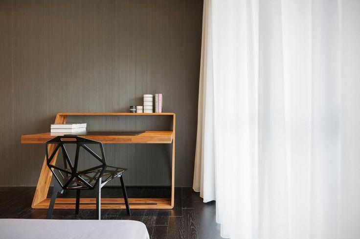 Tea - Art / J.C. Architecture #bedroom #homeoffice