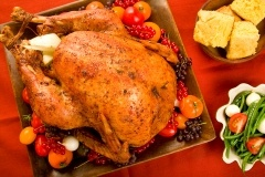 This is my favorite go-to recipe for basic roast turkey and the BEST gravy ever!!