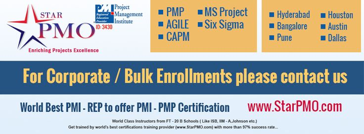 PMI-PMP® Certification Training in Hyderabad PMP® Certification ...