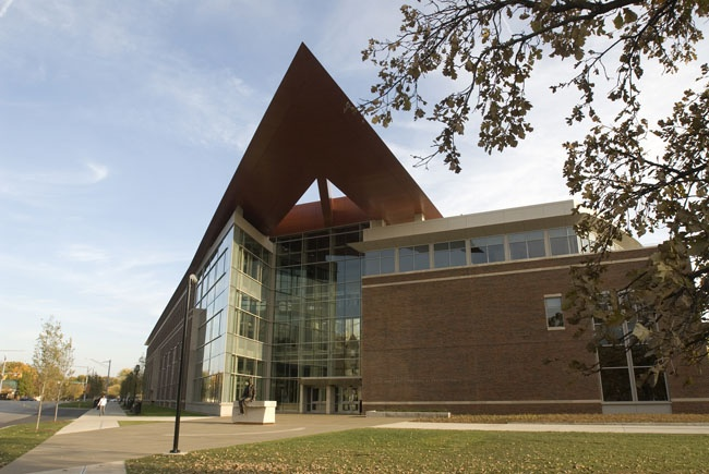 Armstrong Hall - the home of engineering students