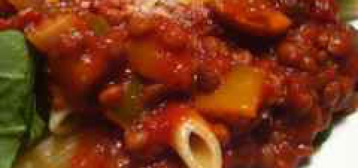 Red Lentil & Vegetable Marinara