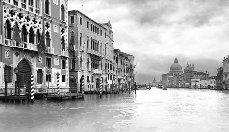 Grand Canal (Venice).  Unlimited edition. Printed on Fine Art Paper 50 x 70 (Paper size)  Signed by Fabio Bressanello